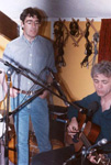 Nic Jones and Gerry Hallom (Fellside Studio)